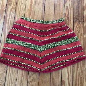 Boho Woven Shorts